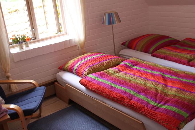 Die Deichkoje als Doppelzimmer